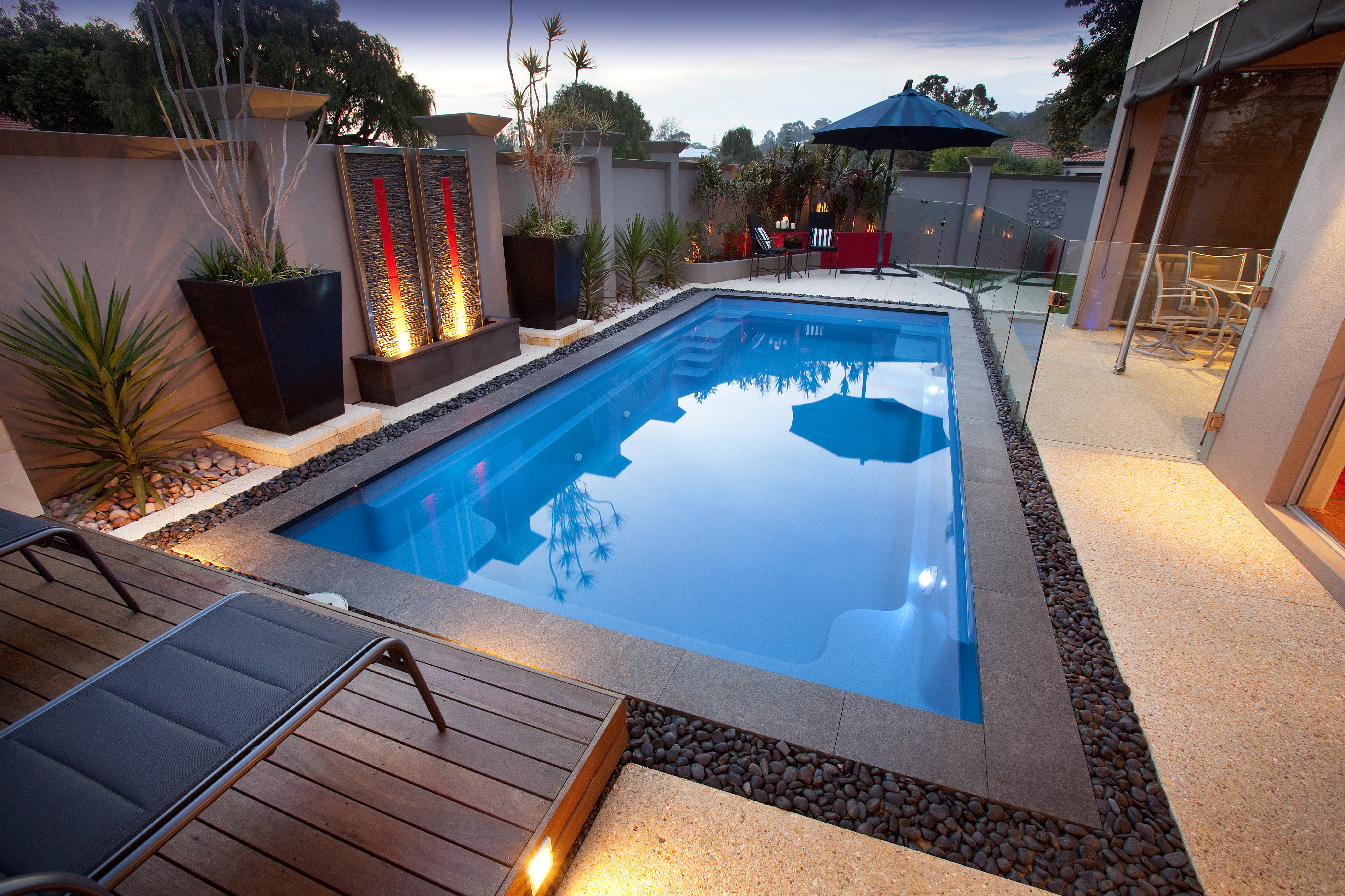 fibreglass plunge pools u0026 inground swimming pools in melbourne