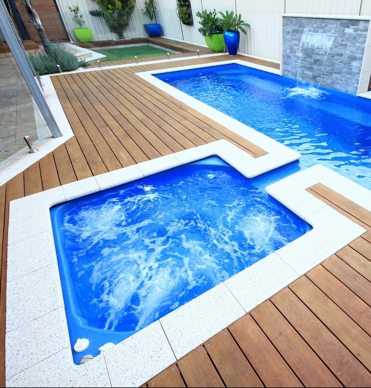 Pool And Spa Combo
